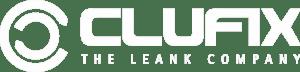 Clufix logo blanc